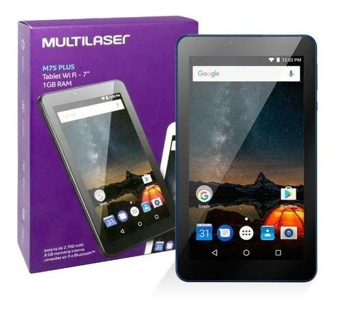 Tablet M7s Plus Multilaser 8gb 7 Pol Wi-fi Bluetooth Android