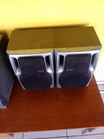 Som Aiwa Modelo Nsx-s303 Digital Audio System Cd3 Com 2 Caix