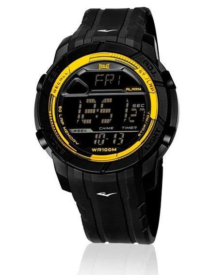 Relógio Pulso Everlast Action E702 Digital Pulseira Silicone