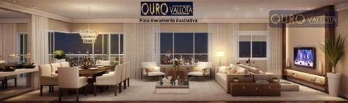 Apartamento Com 4 Dormitórios À Venda, 185 M² Por R$ 2.770.000,00 - Campo Belo - São Paulo/sp - Ap3061