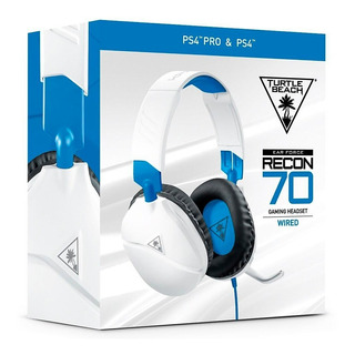 Auricular Turtle Beach Recon70 Ps4 Xbox Switch Celular White