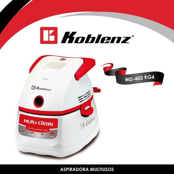 Aspiradora Multiusos Con Accesorios Blanca Koblenz Wd-402