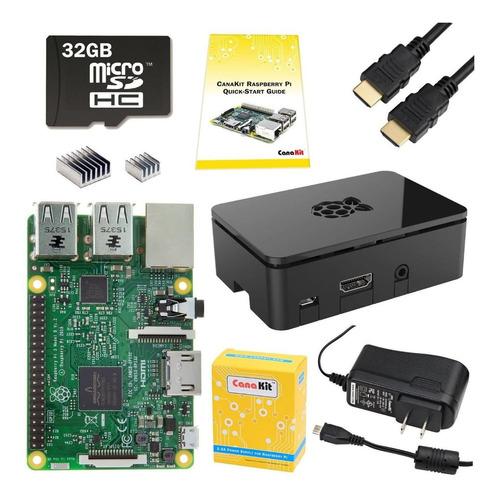 Raspberry Pi 3 Modelo B Canakit Starter Kit. Pi 3 Y Accesori