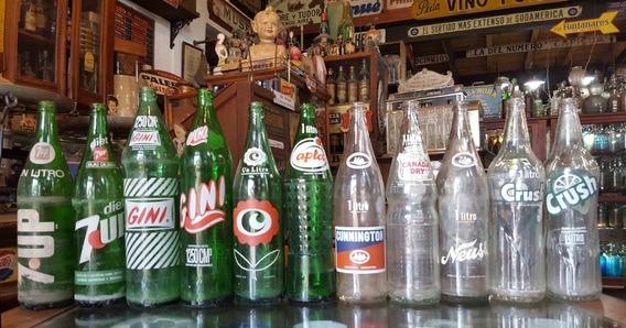Antiguas Botellas De Gaseosas De 1 Litro (lote De 26). 25936
