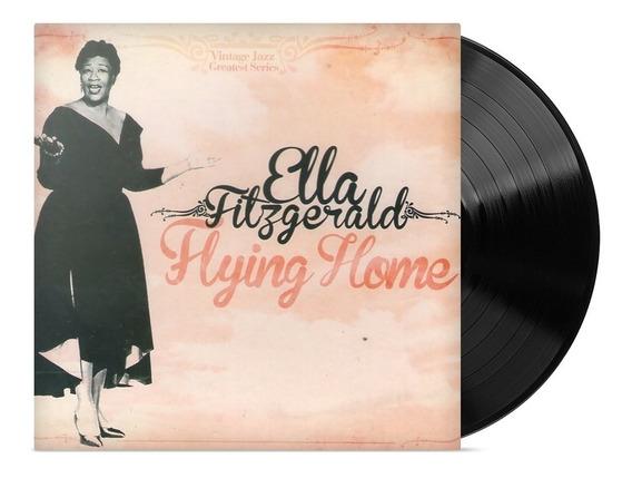 Ella Fitzgerald - Flying Home Disco Vinilo Lp Nuevo Alclick