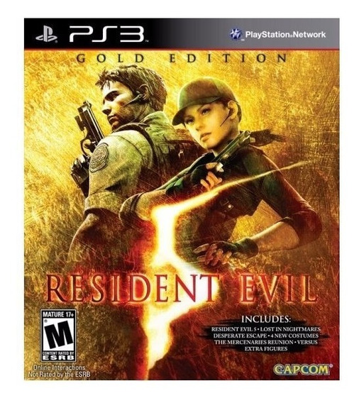 Resident Evil 5 Gold Edition Ps3 Codigo Psn