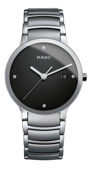 Reloj Rado Centrix Jubilé R30927713 Diamonds Plat Ngo Hombre