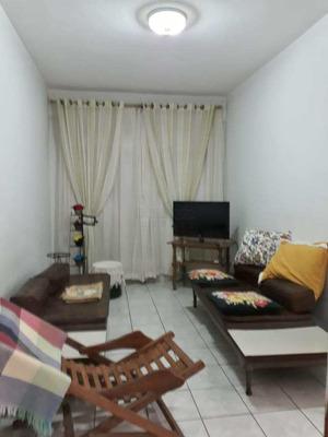 Apartamento Mobiliado 2 Quartos 40 Metros Do Mar - Forte - V625