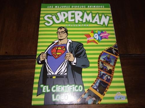 Superman. Dvd Colección Los Mejores Dibujos Animados.sin Uso