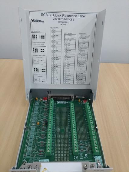 Scb 68 - Bloco Io 68 Pinos Blindado Dispositivo Daq National