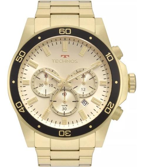Relógio Masculino Cronógrafo Technos Skymaster Js25bz/4p