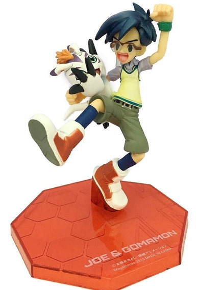 Action Figure Digimon Adventure Joe & Gomamon Gem Series