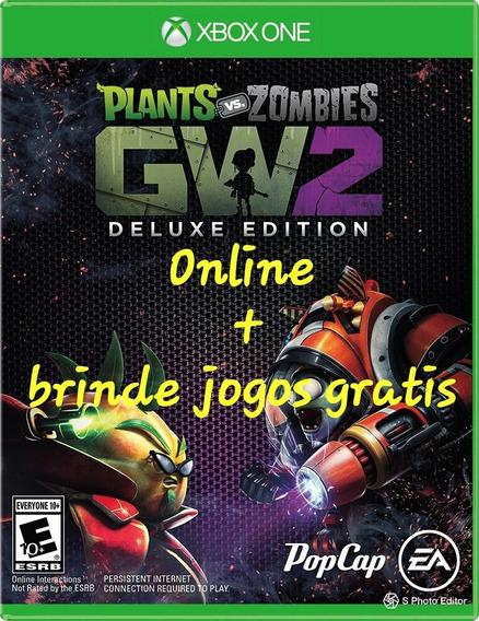 Plants Vs Zombies Garden Warfare 2 Deluxe Edition Xbox One