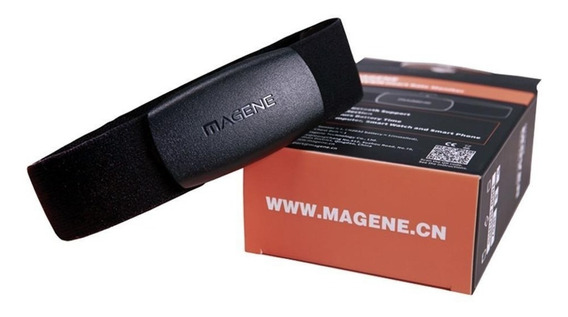 Cinta Frequencia Cardíaca Bluetooth Ant+ Magene Garmin Edge