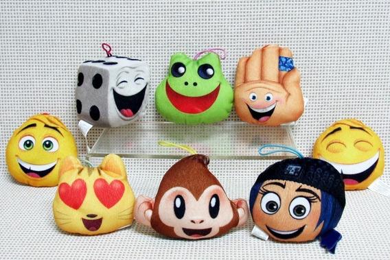 Pelucia Emoji Lote (8) Mc Donalds Bau2 (os Oito)
