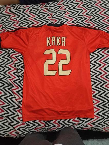 Camiseta Milan Original Entrenamiento Kaká