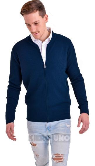 Campera De Lana Hombre Sweater Saco Cierre Pullover Kierouno