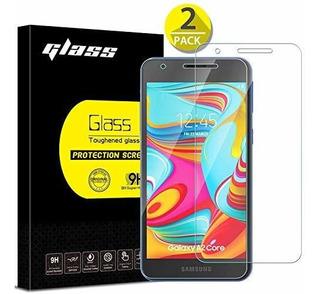 [paquete De 2] Protector De Pantalla Samsung Galaxy A2 Core,