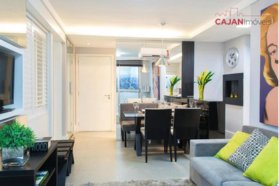 Apartamento 1 Dormitório Com Vaga De Garagem No Bairro Petrópolis - Ap2115