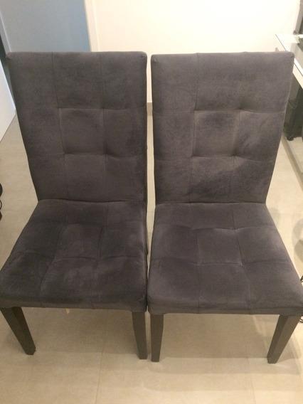 Cadeira Cinza Sala De Jantar