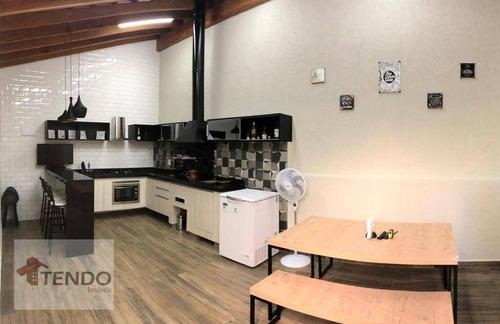 Imagem 1 de 13 de Imob02 - Casa 108 M² - Venda - 2 Dormitórios - 1 Suíte - Residencial São Gabriel - Salto/sp - Ca0784