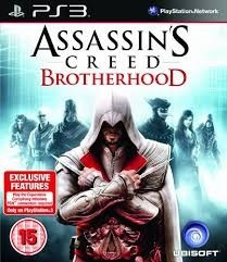 Jogo Ps3 - Assassin´s Creed: Brotherhood (m.física/original)