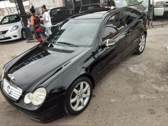 Mercedes-benz Clase C 1.8 230 K Sportcuopé At 2002