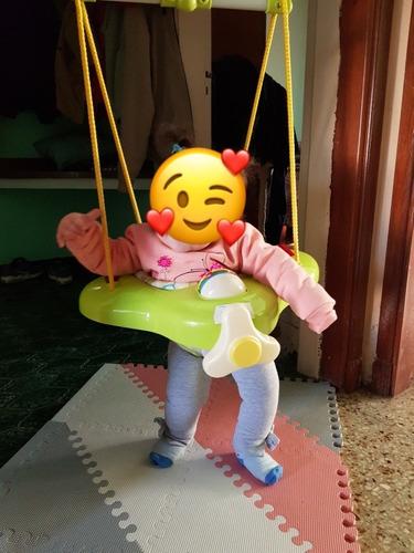 Jumper Saltarín Disney Bebé Usado En Excelente Estado