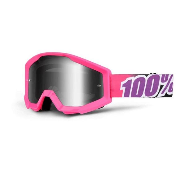 Antiparra 100% Motocross Strata Bubble Gum Solomototeam