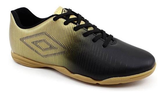 Tênis Futsal Umbro Vibe 0f72086 Dourado Loja Pixolé