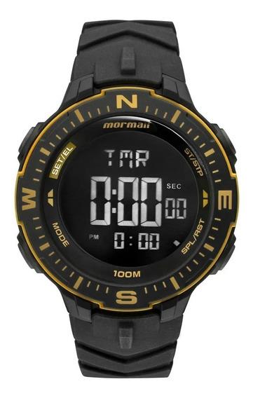 Relógio Mormaii Masculino Original C/ Nf Action Monk005/8d