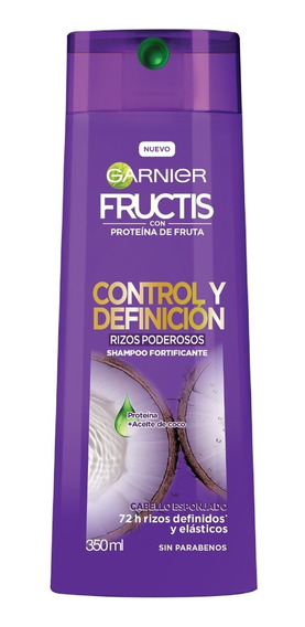 Shampoo Fructis Rizos Poderosos - L a $31