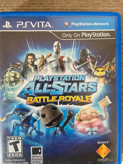 Ps Vita All-stars Battle Royale