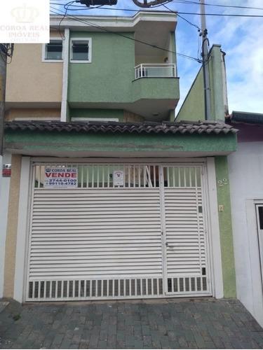 Imagem 1 de 23 de Sobrado Semi Novo Na Vila Guilhermina - Ca00277 - 34411944