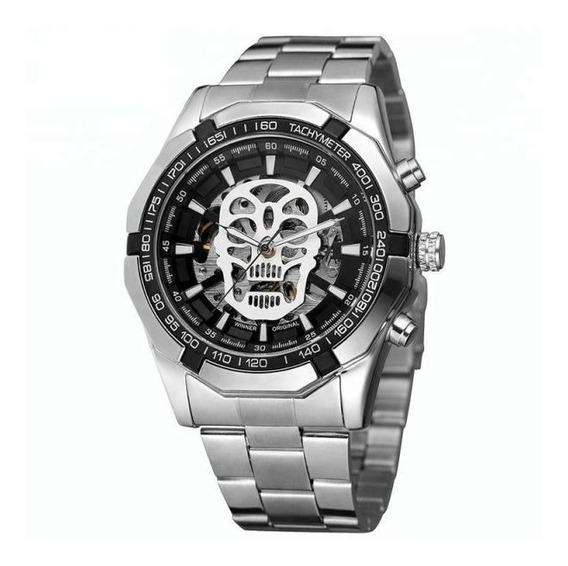Reloj Automatico Skull Lab Calavera