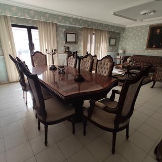 Sala Chippendale Comedor Trinchador Antigüedad Muebles Finos