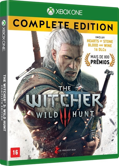 The Witcher 3 Wild Hunt Complete Edition - Xbox One - Fisica