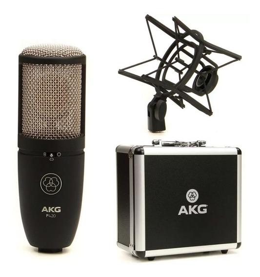 Microfone Condensador Akg Perception P420