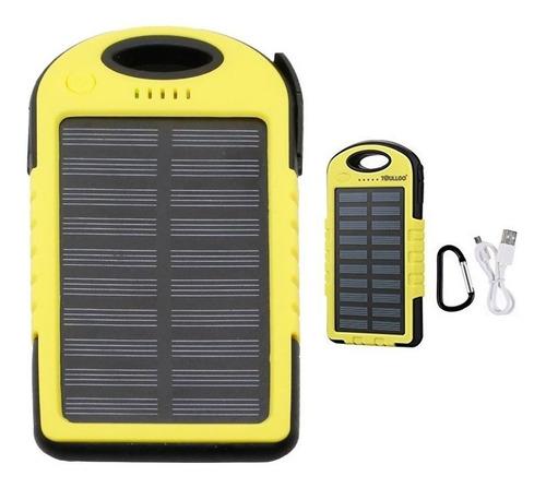 Cargador Portatil Power Bank Solar 5000 Mah