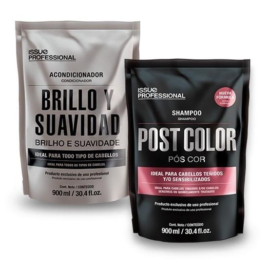 Shampoo Post Color + Acondicionador Issue Profesional 900ml