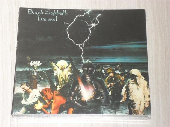 Box Black Sabbath - Live Evil (digipack Deluxe Duplo) Lacrad