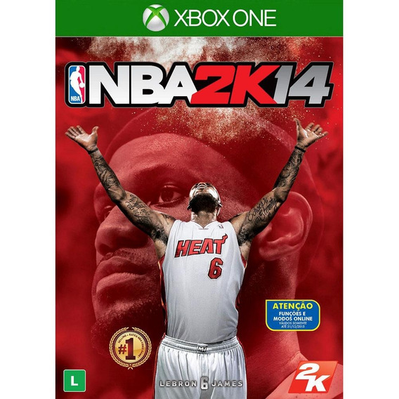 Game Xbox One Nba 2k14 - Original - Novo - Lacrado