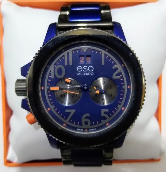 Relógio Masculino, Luxo Movado Esq, Original. Importado