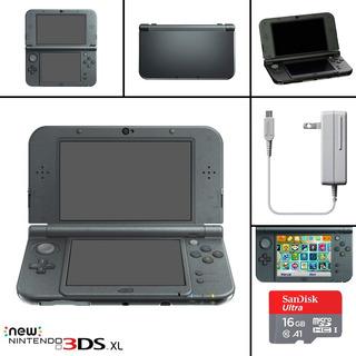 Consola Nintendo New 3ds Xl + 10 Juegos + Cartucho Hack