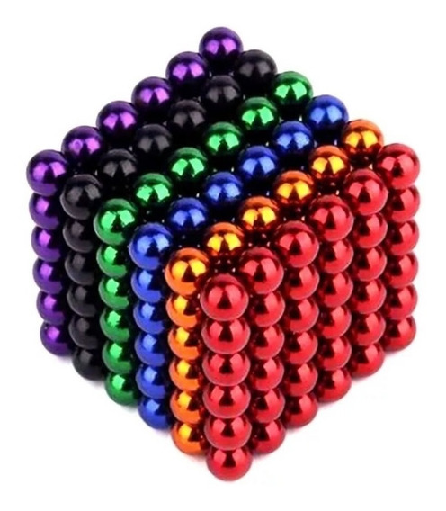 Cubo Magnetico 216bolitas De 3mm Iman