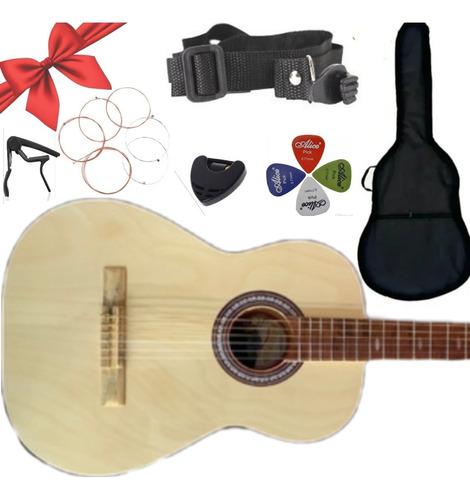 Imagen 1 de 10 de Guitarra Clásica Acústica Hecha En Paracho Michoacán