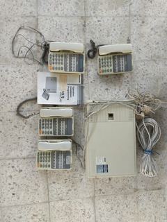 Conmutador Panasonic Vb-9 Plus 8 Lineas 24 Ext