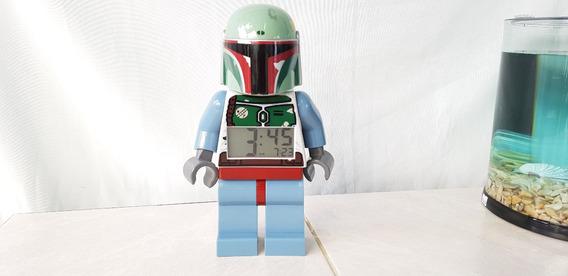 Boba Fett Lego Reloj Despertador Star Wars Collection