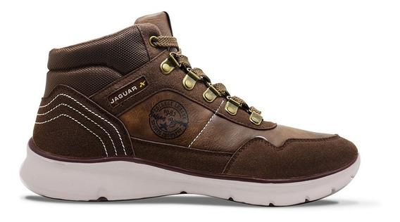 Zapatillas Jaguar Oficial Trekking Art #3009 Hombre 40 Al 45