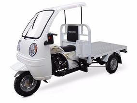 Motocarro Gasolina Tipo Plancha Con Cabina Modelo G-ya8